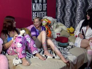 TsRavenRoxx in Tranny Sleepover Massacre