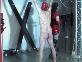 Female Domination – FemmeFataleFilms – Red Whipping – Part 2 – Mistress Lady Renee