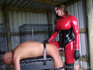 Strapon – The English Mansion – Divine Bitch – Part 3 – Maitresse Madeline | inverted | strap on tall woman femdom