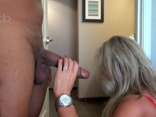 First BBC touch, careful penetration, dripping wet pussy