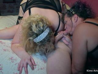 Ka Kim, Davey Sammy - YOUNGER GUY GETS WITH BBW GRANNIES FOR A HOT THR ...