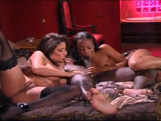 Two Girls One Cock And A Big Blowjob 720