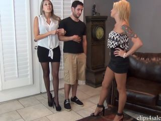 real estate agent bella ink foot wife unaware  bratty babes own you