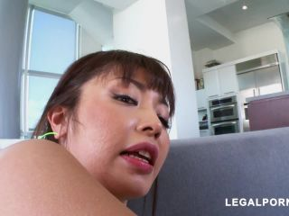 New 28.10.18 Asian girl Marica Haze rubber dildo Anal