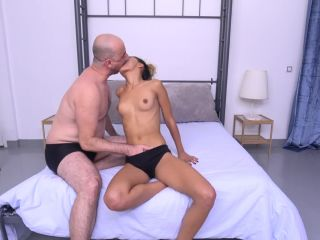 Anal Sex + Cumshot with Footjob with Scarlet Domingo Homemade Video