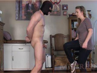 francesca le femdom femdom porn | Mistress T — Spreader Bar Ballbust | faceslapping