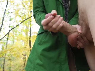 in Forest - Amateur Couple