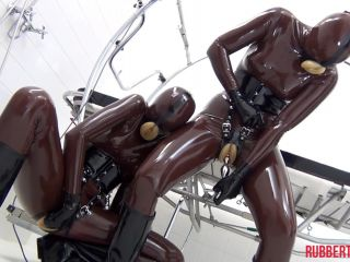 RUBBER PUSSY GIRLS IN RUBBER CLINIC