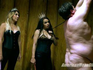 Foot Fetish – THE MEAN GIRLS – Fan-Slave Visit 99 – Princess Amber