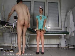 Ball Abuse – Ball Busting Chicks – Sadistic Nurse