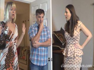 Clare Spanks Men – Sarah Gregory – Real Estate Spanking Visit