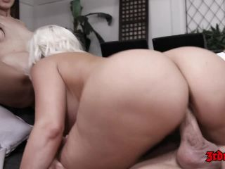 Marcia Hase and Alena Croft Loves Riding Cock