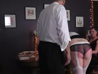 In this comical video of the clumsy maid, Amy, trying to serve dinner ...