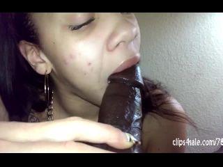 DSLAF – Ms Natural Amazing Sloppy Blowjob