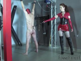 Porn online [Femdom 2018] FemmeFataleFilms – Red Whipping – Part 1. Starring Mistress Lady Renee [bull whipping, cp, flogging, rubber, whip] femdom