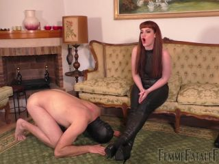 Leather Ankle Boots – Femme Fatale Films – Boot Worship Day – Complete Film – Miss Zoe