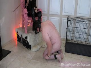 Corporal Punishment – THE MEAN GIRLS – Whipped Dragged and Spit On – Empress Jennifer