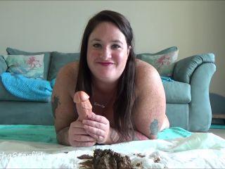 SamanthaStarfish - Toilet Slavery Tasks Masturbate With My Shit [FullHD 1080P] - Screenshot 1