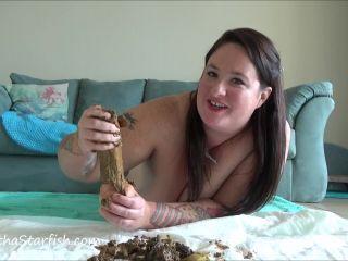 SamanthaStarfish - Toilet Slavery Tasks Masturbate With My Shit [FullHD 1080P] - Screenshot 3