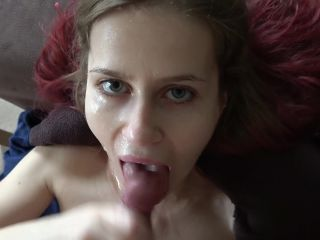 Miss Deep Misia aka maskbj in 21 Sloppy Messy Blowjob Spiting on her Face