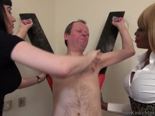 KinkyMistresses  Face Slapping At The Cross  Complete Film  Starring Goddess Cleo & Mistress Ava Black