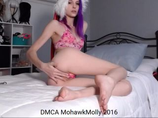 mohawk molly slip my panties to the side