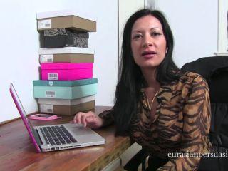 Shoe domination – Miss Jasmine – Office Doormat Training