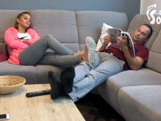 Socks Footdom – Czech Soles – Gym feet domination and brutal foot smother