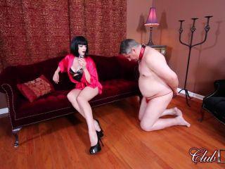 Clubdom: Cruel Unusual Femdom - Jean Bardots Sissy Training Part 1: Dress And Suck   bondage   bdsm porn girl hard bdsm