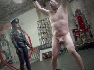 Corporal Punishment – Asian Cruelty – GODDESS MIKI BUSTS BALLS! Starring Mistress Miki