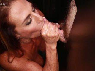 Online video Briana's First Gloryhole Video  12/16/2016 creampie
