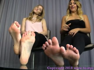 Porn online Toes – Brat Princess 2 – Princess Amber, Princess Skylar – We Get What We Want with Our Feet and Our Looks