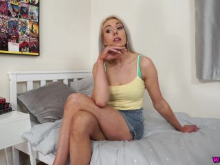 WankItNow – Sapphire – Birthday Treat Part 2 – Blowjob – Ejaculation, Jerk Off Encouragement, best fetish porn sites on blonde