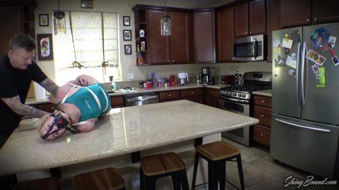 Jolene Hexx - Strict Swimsuit Hogtie (1080p)
