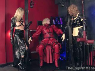 ObeyNikita - Mistress Nikita - Shiny black boots - fullweight trampling on fetish porn