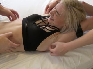 Rae's Ticklish Belly and Armpits