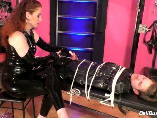 Porn online Bondage – Mistress Lady Renee – Degrading CBT and nailing