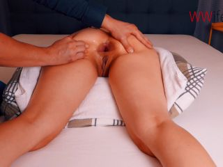 Again Gets Giant Plug And Fisted Anal Hardcore / SexyNaty