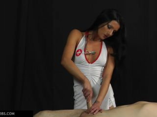 Forced Male Orgasm – HANDJOBS MISTRESS – At the doctor's – Doctor Tatjana