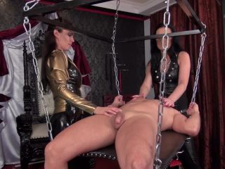 Domination/femdom – Kinky Mistresses – A perfectly Ruined Orgasm – Mistress Susi and Lady Luciana