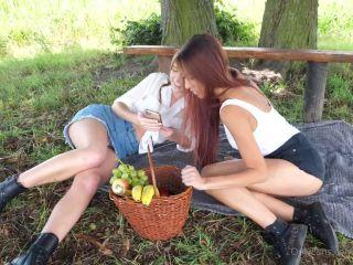 Alexis Crystal, Paula Shy – Celebrating last hot days with Paula Shy