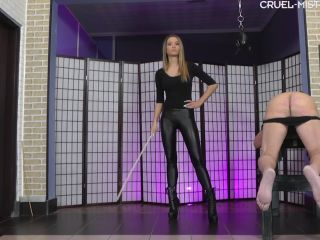 Spanking F/m – EROTIC DOMMES – Caning without a stop – Mistress Ariel