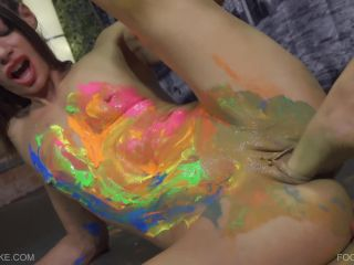 Foot Painting Jessica