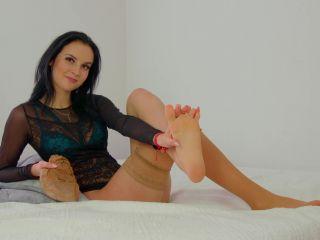 Stocking feet – Polish Mistress – JOI – 2 Clips – Eliza And Helena – 2 Goddesses Will Take Care Of You