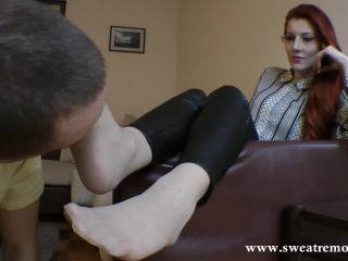 Foot Fetish Feet Licking Heel, Female Domination, Smother