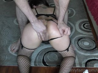 Russian Raduga little anal rosebutt stretching during deep anal fisting