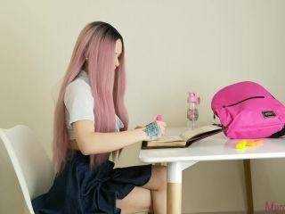 Marcelin Abadir in 26 [PREMIUM] Schoolgirl masturbating with Pink Toy
