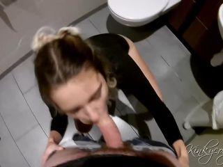 Kinkycouple111 – Public Bathroom Fucking And Cum Swallow