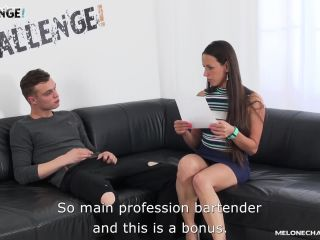 Squirting devila melone drilled in ass by newcomer with huge creampie