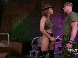 Pussy Worship – VICIOUS FEMDOM EMPIRE – Beatdown by Pussy – Sergeant Sophia
